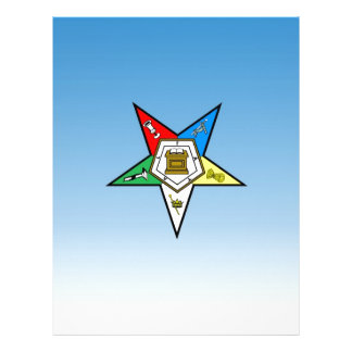 OES Order of the Eastern Star Blue Letterhead