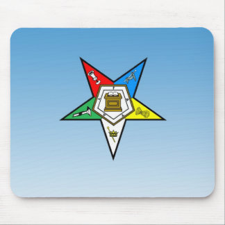 OES Order of the Eastern Star Blue Mouse Pad