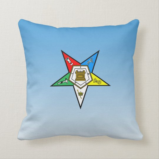 OES Order of the Eastern Star Pillow