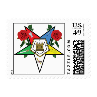 OES ROSES POSTAGE STAMPS