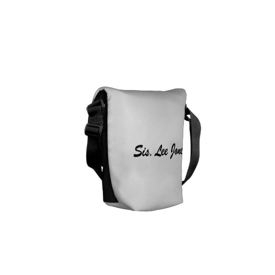 OES Small Messenger Bag (Black)