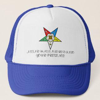 OES STAR HAT... TRUCKER HAT