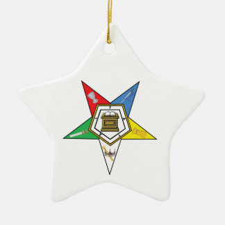 OES Star Christmas Ornaments