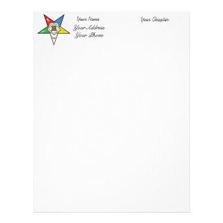OES Star Stationery Custom Letterhead