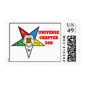 OES Universe Chapter 508 Stamp