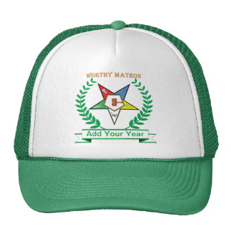 OES Worthy Matron With Your Year Trucker Hat