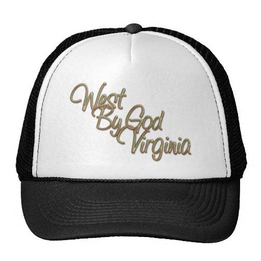 Oeste de dios Virginia_2 Gorra