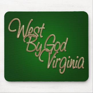 Oeste de dios Virginia_2 Mouse Pad