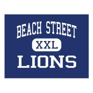 Oeste medio Islip de los leones de la calle de la Postal