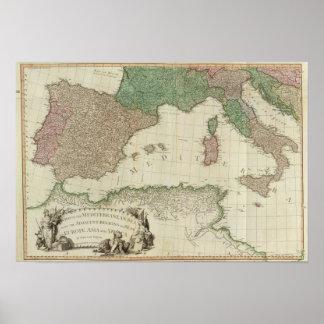 Oeste mediterráneo poster