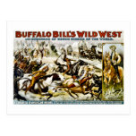 Oeste salvaje 1899 de Buffalo Bill Tarjeta Postal