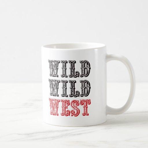 ¡Oeste salvaje salvaje! - Rojo Taza