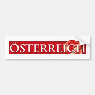 Oesterreich Red Bumper Sticker