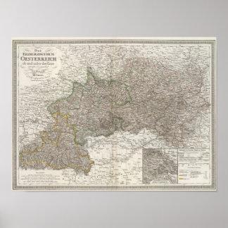 Oesterreich - región de Viena Póster