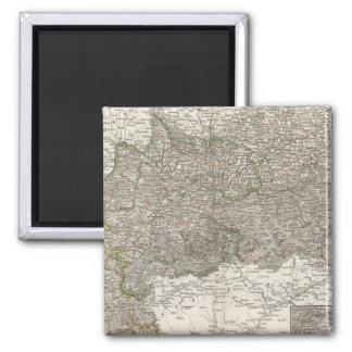 Oesterreich - Vienna Region 2 Inch Square Magnet