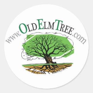 OET round sticker