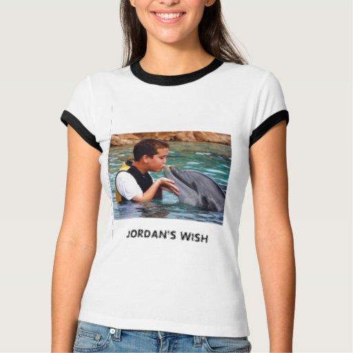 of=50,321,442, el DESEO de JORDANIA T-shirt