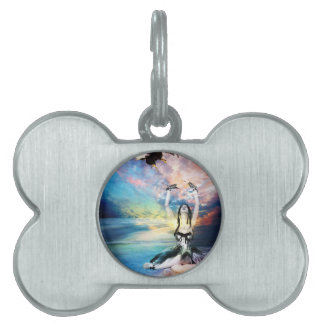 OF A FEATHER ~ FREEDOM PET ID TAG