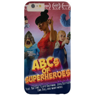 Of ABC OF Superheroes for iPhone 6/6s Barely There iPhone 6 Plus Case