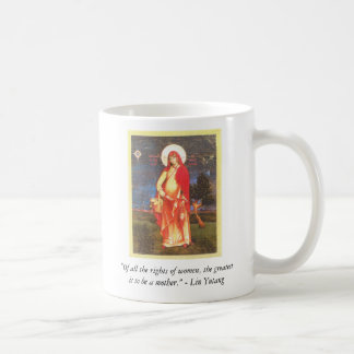", ""Of all the rights of women, the greatest... Coffee Mug"