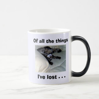 Of all the things I've lost . . . Magic Mug