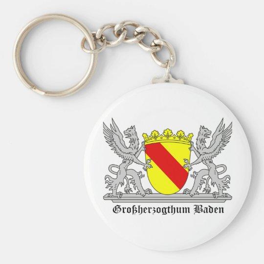 Of Baden seize mi writing Grand Duchy of bathing Keychain
