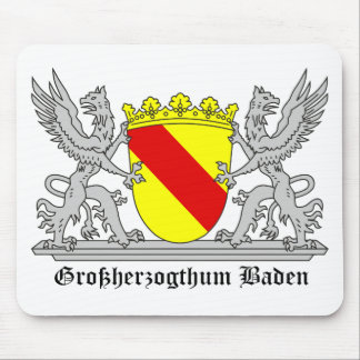 Of Baden seize mi writing Grand Duchy of bathing Mouse Pad