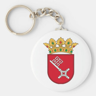 Of Bremen coats of arms Basic Round Button Keychain
