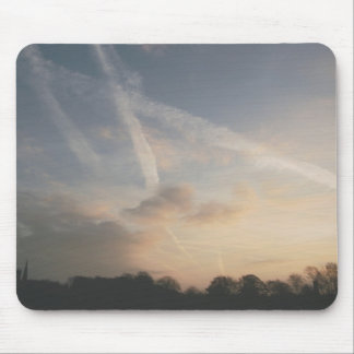 Of Clouds and Contrails Mouse Pad