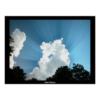 Of Clouds and Sunbeams Poster