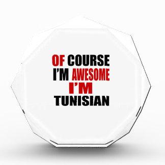 OF COURSE I AM AWESOME I AM TUNISIAN AWARD