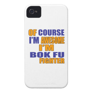 Of Course I Am Bok Fu Fighter iPhone 4 Case