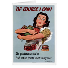 """Of Course I Can!"" Greeting Card"