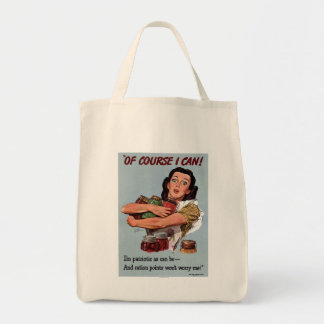 """Of Course I Can!"" Tote Bag"