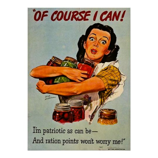 Vintage WWII Propaganda Poster
