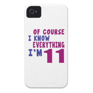 Of Course I Know Everything I Am 11 iPhone 4 Case