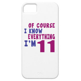 Of Course I Know Everything I Am 11 iPhone SE/5/5s Case