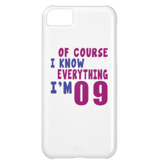 Of Course I Know Everything I Am 9 Cover For iPhone 5C