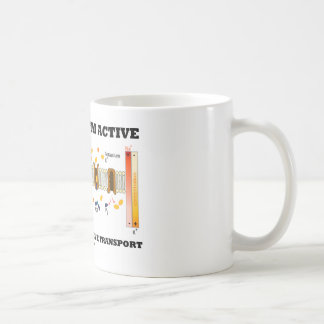 Of Course I m Active I m Engaged Active Transport Coffee Mugs