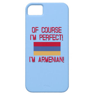 Of Course I'm Perfect, I'm Armenian! iPhone 5 Cover