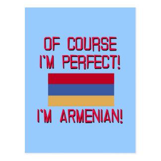 Of Course I'm Perfect, I'm Armenian! Postcard