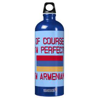 Of Course I'm Perfect, I'm Armenian! SIGG Traveler 1.0L Water Bottle