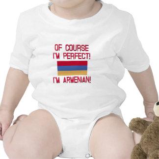 Of Course I'm Perfect, I'm Armenian! Bodysuits