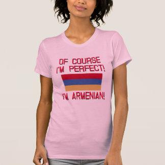 Of Course I'm Perfect, I'm Armenian! Tee Shirt