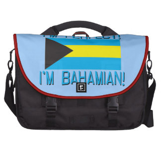 Of Course I'm Perfect, I'm Bahamian! Bag For Laptop