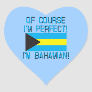 Of Course I'm Perfect, I'm Bahamian! Stickers