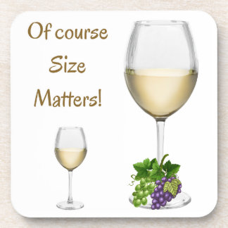 Of Course Size Matters Coaster Set