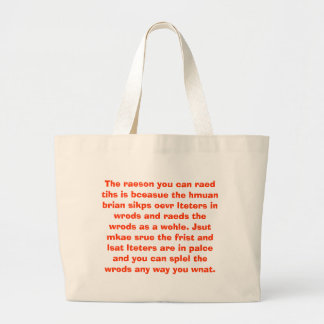 Of course you can read this! tote bag