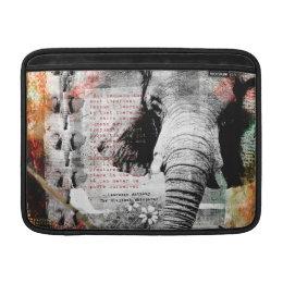 Of Elephants and Men MacBook Air Sleeve