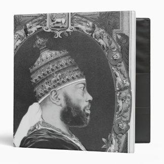 of Ethiopia, Menelik II 3 Ring Binder